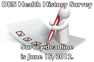 DES Action Health History Survey