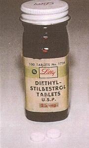 DiEthyl-Stilbestrol Tablets 25 mg by DES Drug Manufacturer #EliLilly @LillyPad
