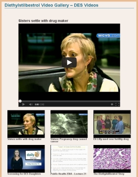 Diethylstilbestrol Video Gallery - 20+ DES-related Videos gathered for you