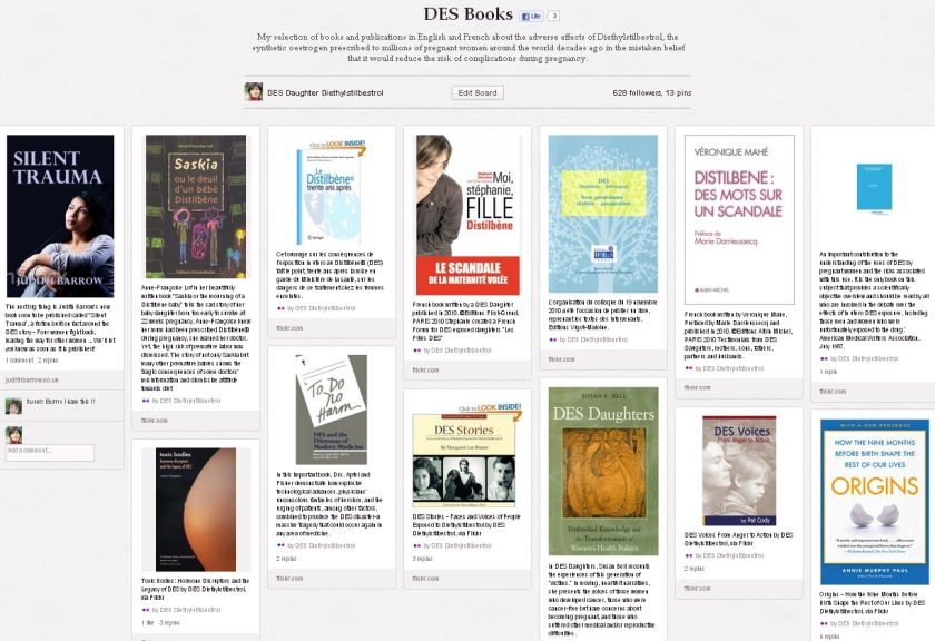 DES Books on Pinterest
