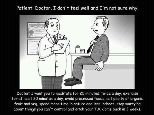 Patient: Doctor, I don't feel well and I'm not sure why, #comics on Flickr