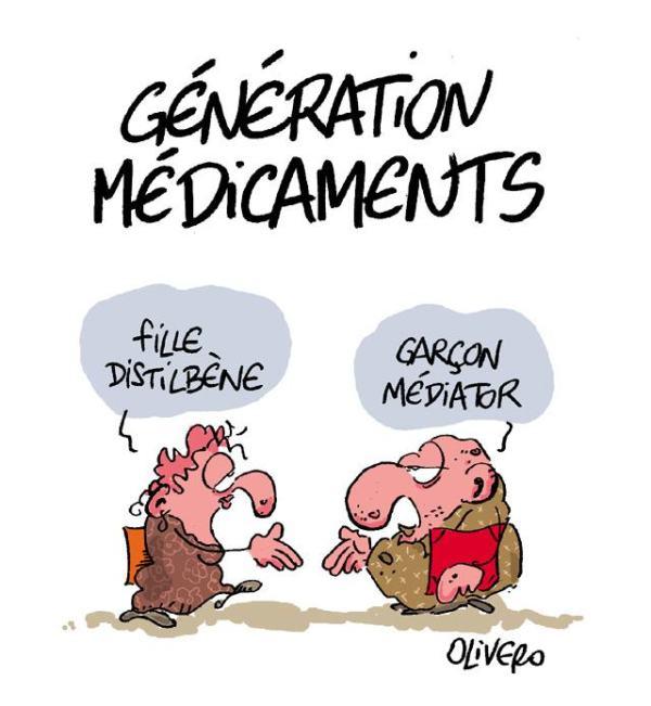 Génération Médicaments - Fille Distilbène, Garçon Médiator - by Olivero on Flickr
