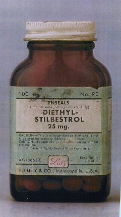 DIETHYL-STILBESTROL 25 mg Tablets by Eli Lilly DES Drug Manufacturer on Flickr