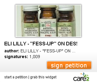 "ELI LILLY ""FESS-UP"" on DES! #KeepLillyHonest on Flickr"