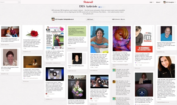 DES Activists on Pinterest