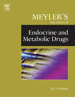 Meyler's Side Effects of Endocrine and Metabolic Drugs book cover image