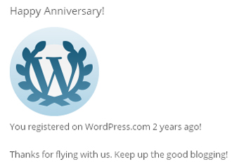 Happy Anniversary DESdaughter.WordPress.com Blog !