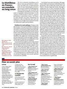 Le Distilbene en France un scandale au long cours Page n°5