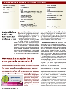 Le Distilbene en France un scandale au long cours Page n°3