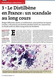 Le Distilbene en France un scandale au long cours Page n°1
