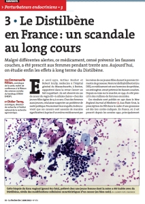 Le Distilbene en France un scandale au long cours Page n°1