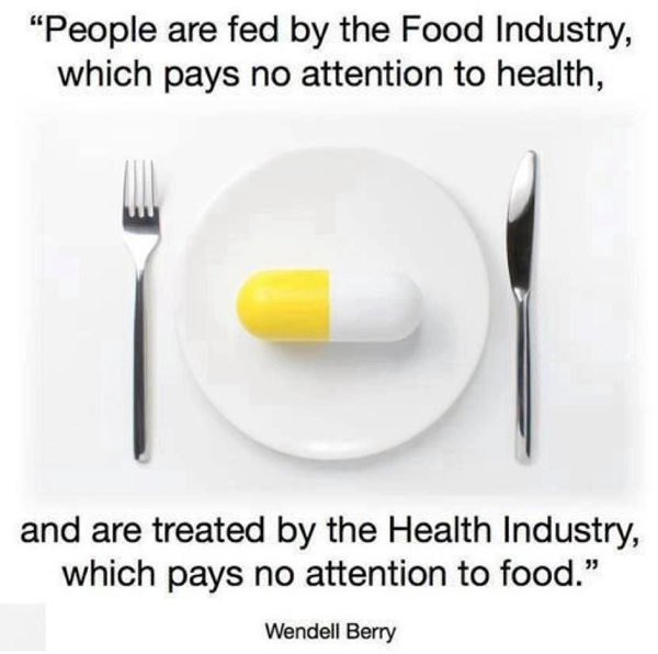 Health and Food Industry poster