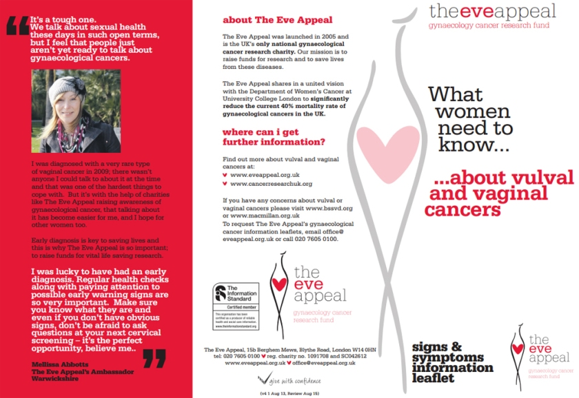 Vaginal Cancer Information Leaflet