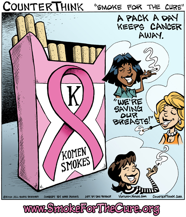Smoke for the Cure, a comics by @HealthRanger on Flickr