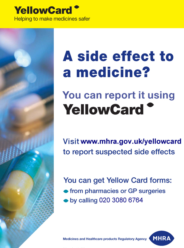 A Side Effect to a Medicine? Report it using YellowCard, by @MHRApress on Flickr
