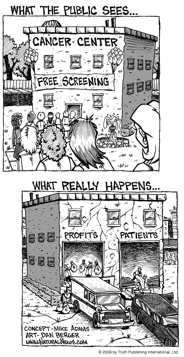The truth about chemotherapy and the cancer industry, a #comics by @HealthRanger on Flickr