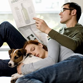 image of couple-relaxing