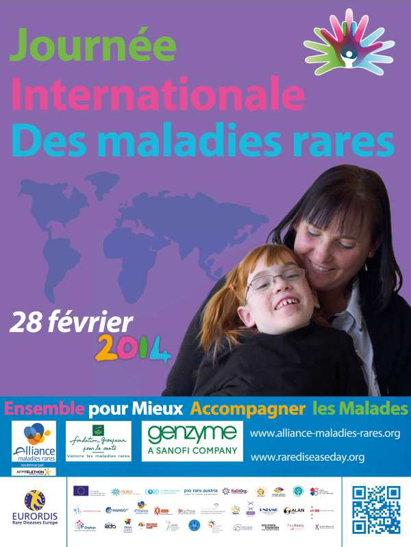 poster of journée internationale des maladies rares