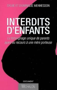 image de couverture du livre interdits d'enfants