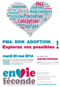 Poster de PMA, Adoption, Don