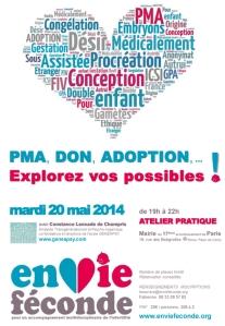 Poster de PMA, Adoption, Don