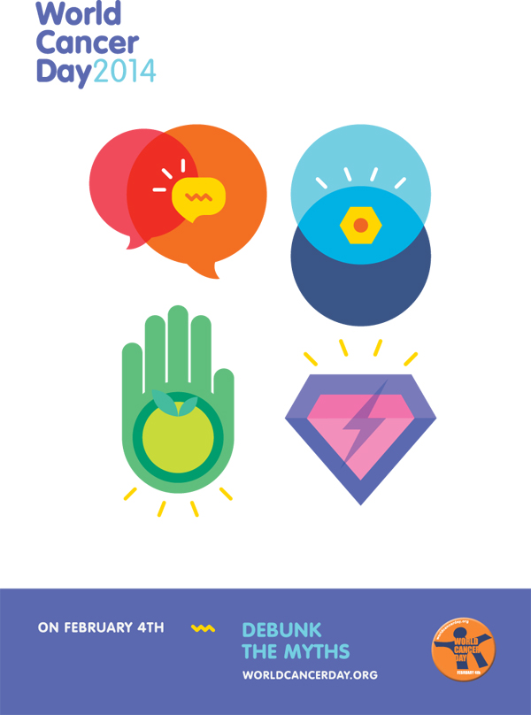 World Cancer Day 2014 poster