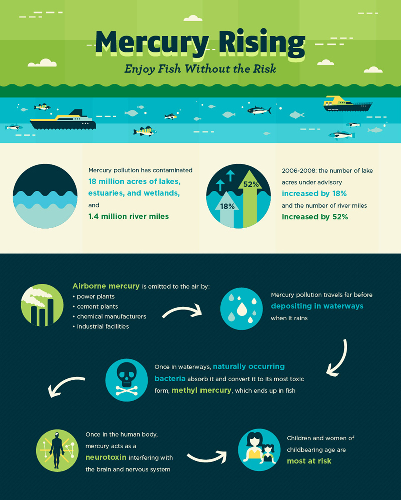 Mercury-Pollution-Rising infographic
