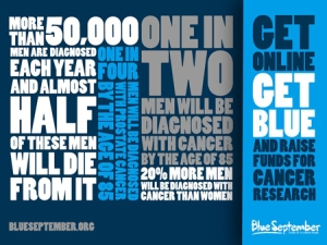 Blue September advert image