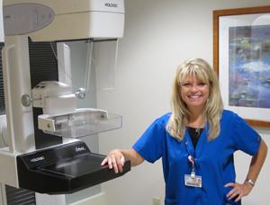 image of mammography screening machine
