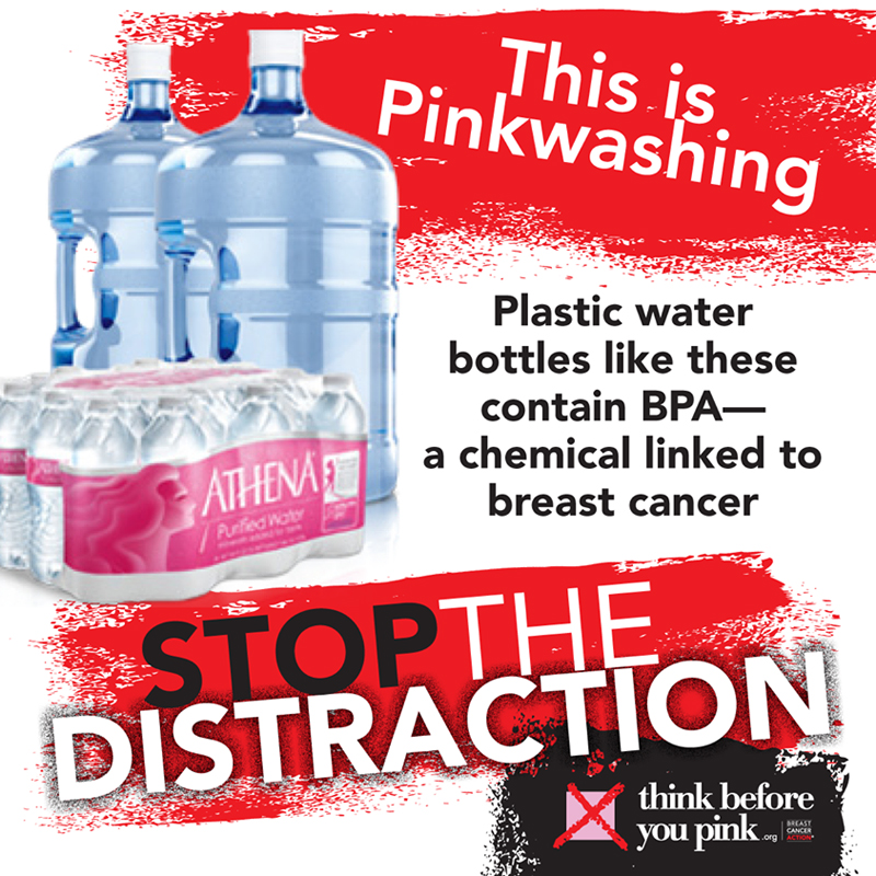 BPA and PinkWashing poster