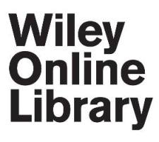 Wiley Online Library logo image