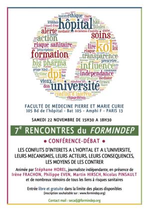 poster des 7 ème Rencontres du Formindep 2014