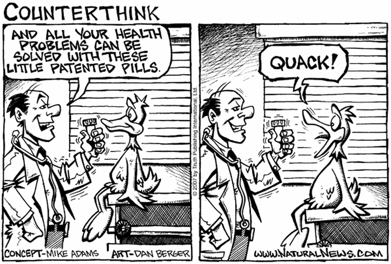 Medical Quackery cartoon