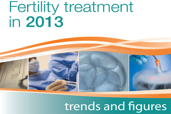 HFEA 2013 fertility trends report image