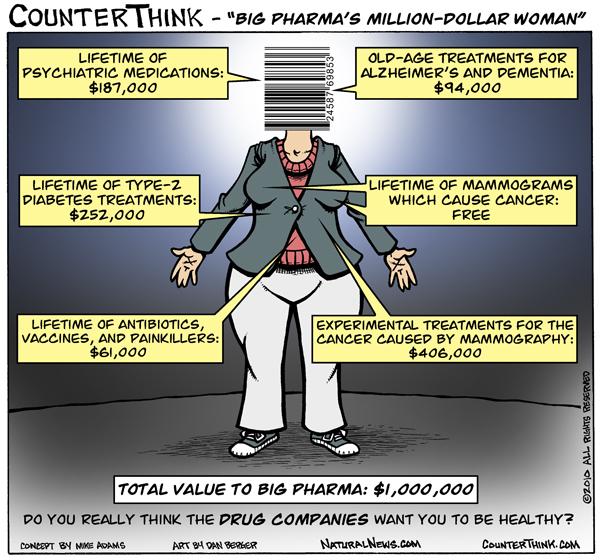 Million-Dollar-Woman cartoon