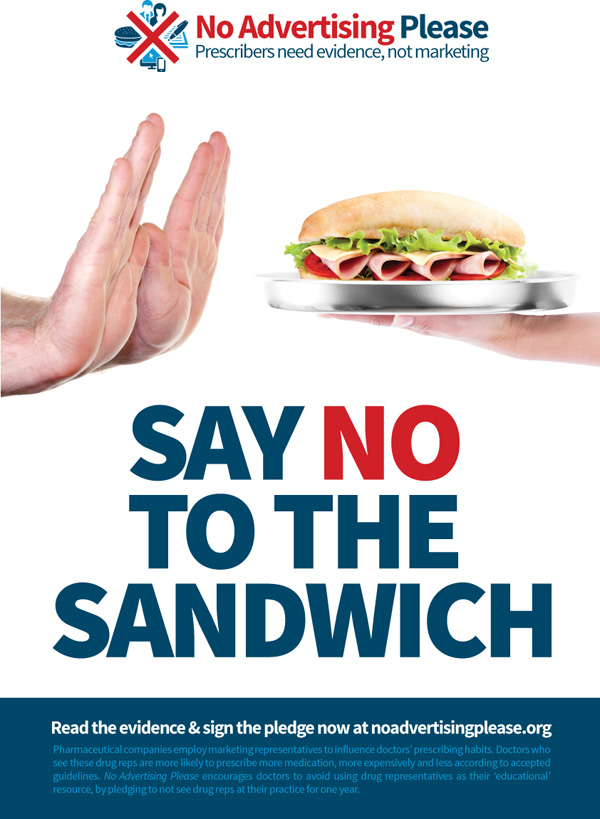 Say-No-Sandwich poster