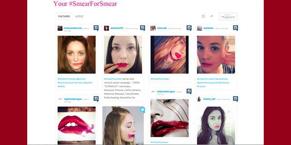 SmearForSmear campaign image