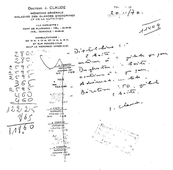 image d' Ordonnance-Distilbène-1970.