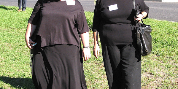 image of obese-women