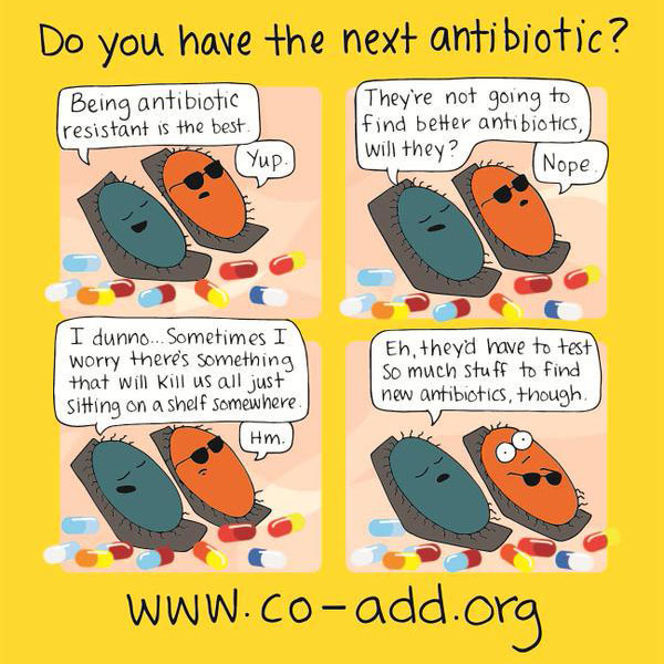Do you have the next antibiotic? – DES Daughter Network