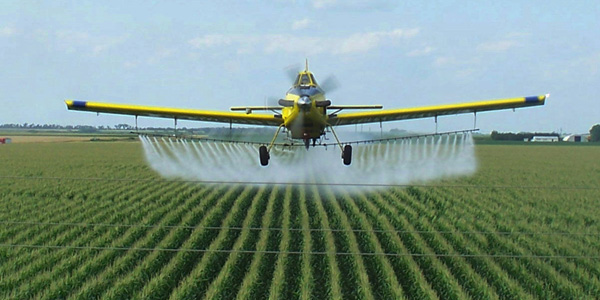 Glyphosate-spraying image