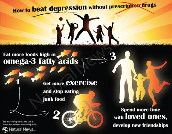How to Beat Depression Without Prescription Drugs | DES