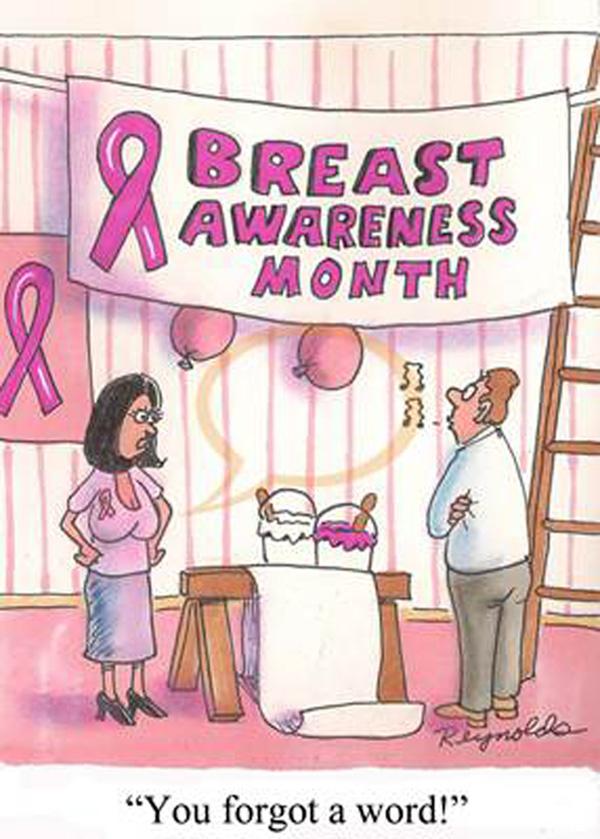 breast-cancer-awareness cartoon