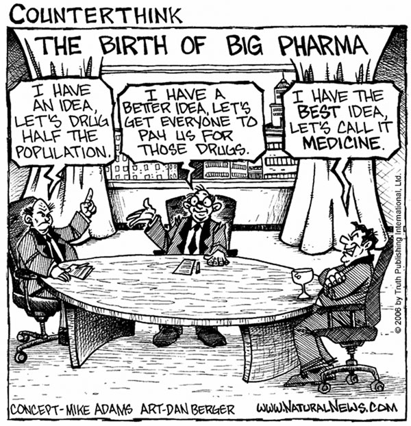 Birth_Big_Pharma cartoon