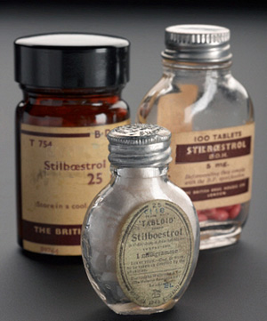 image of stilboestrol-bottles