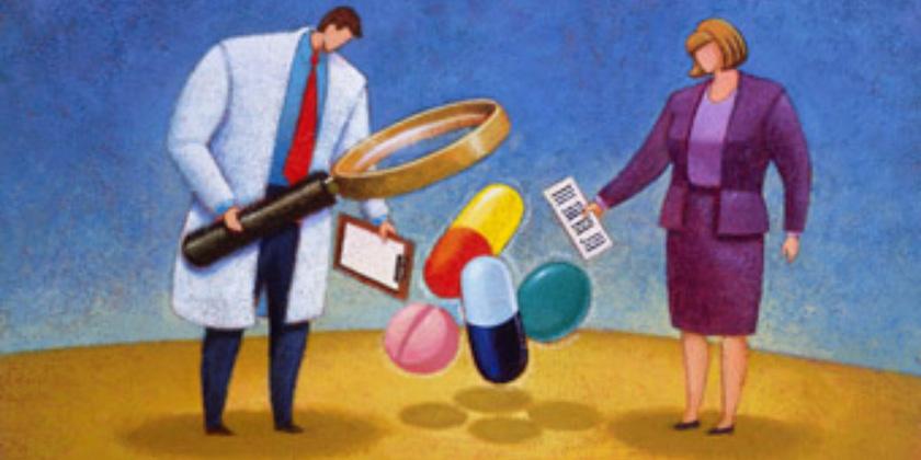 clinical-drug-trial cartoon
