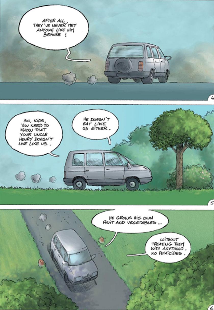 Hi uncle comic strip image