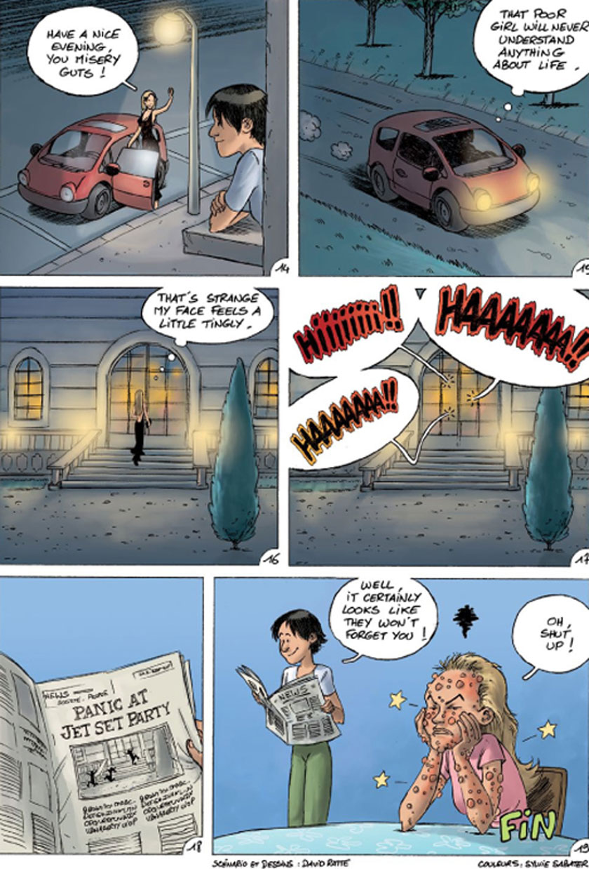 Unforgettable-Cinderella comic strip image