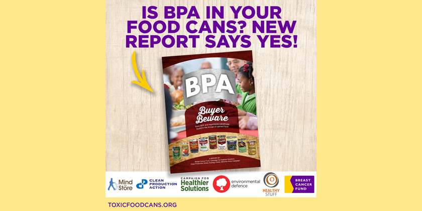 Buyer Beware: Toxic BPA and Regrettable Substitutes in the Linings of Canned Food