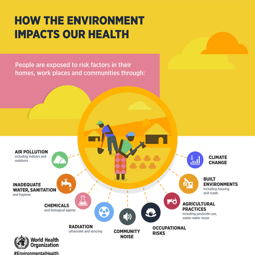 Preventing disease through healthy environments ...